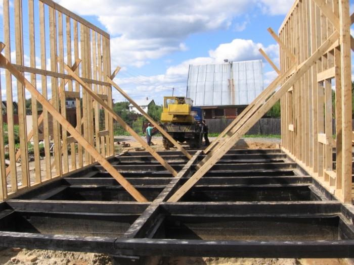 Как построить каркасный дом своими руками 6х6 поэтапное фото - Скачать программы и документы