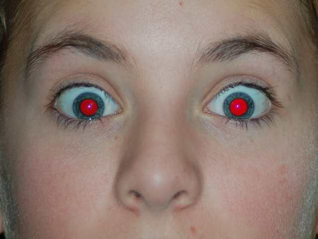 Как в фотошопе сделать черные глаза