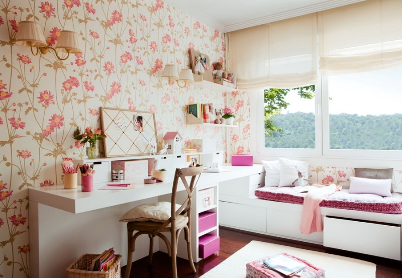 Идеи для дизайна комнаты для девушки