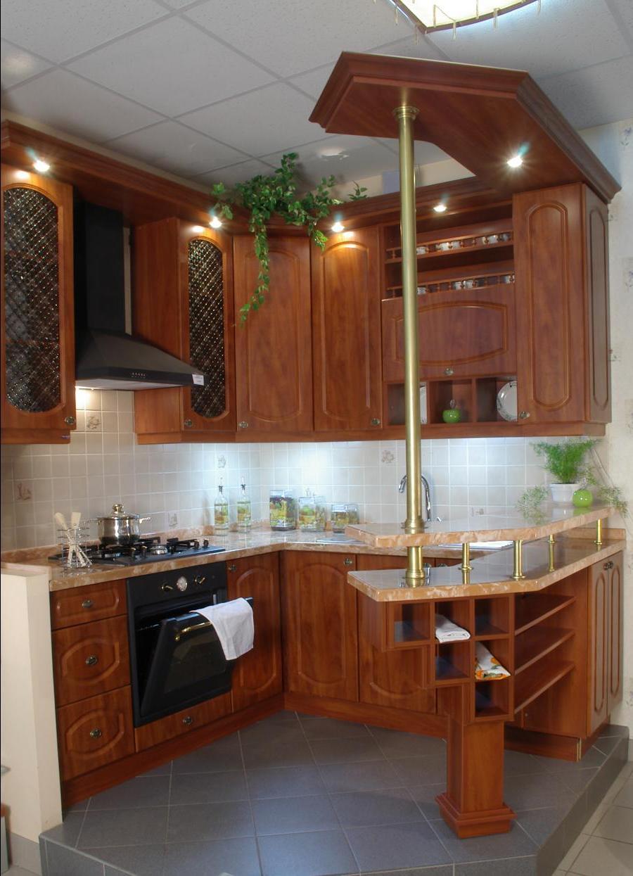 Кухни на 9 кв.м дизайн с барной стойкой