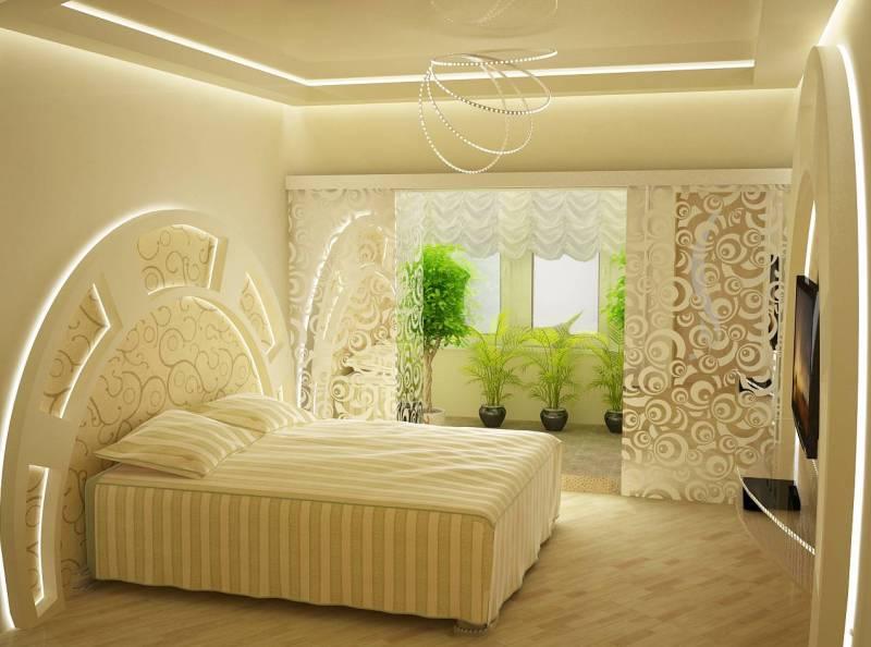 Дизайн интерьер спальня фото