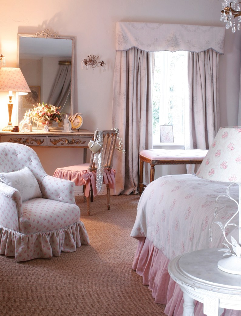 Стиль Шебби шик в интерьере спальни - Фото Дизайн интерьера