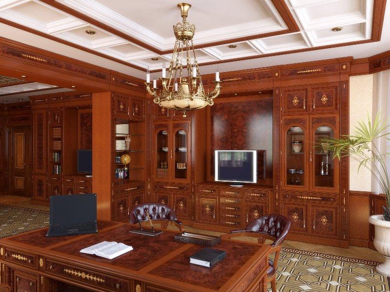 Мебель и дизайн кабинета