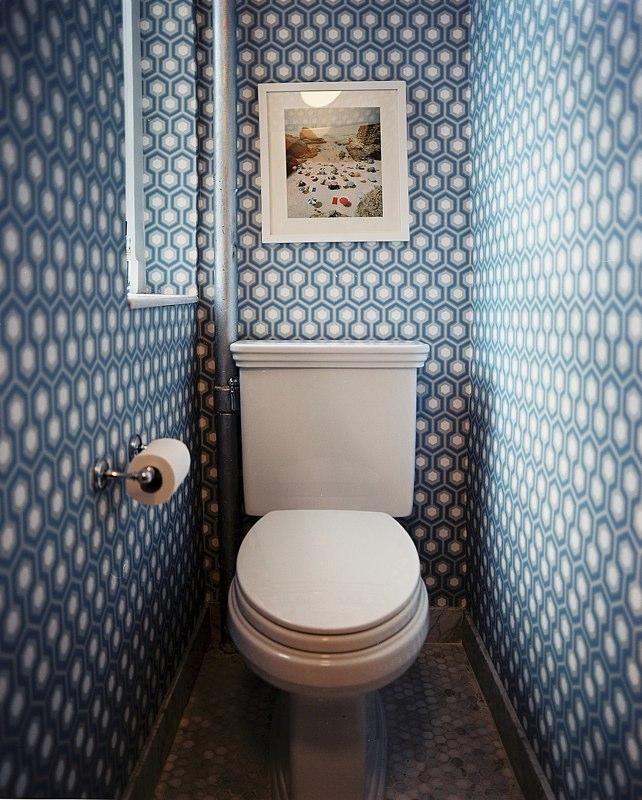 Отделка туалетной комнаты фото
