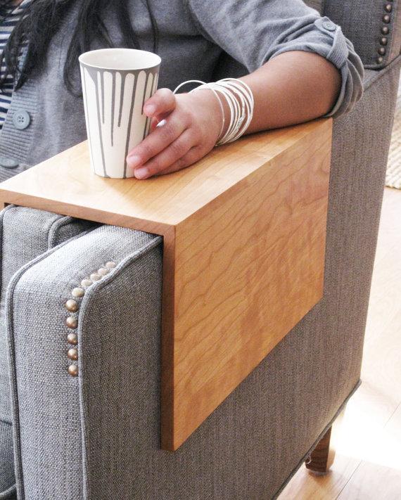 Деревянные подлокотники для дивана своими руками