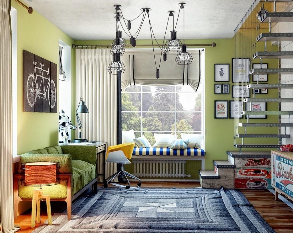 Дизайн интерьер комнаты для подростков дизайн