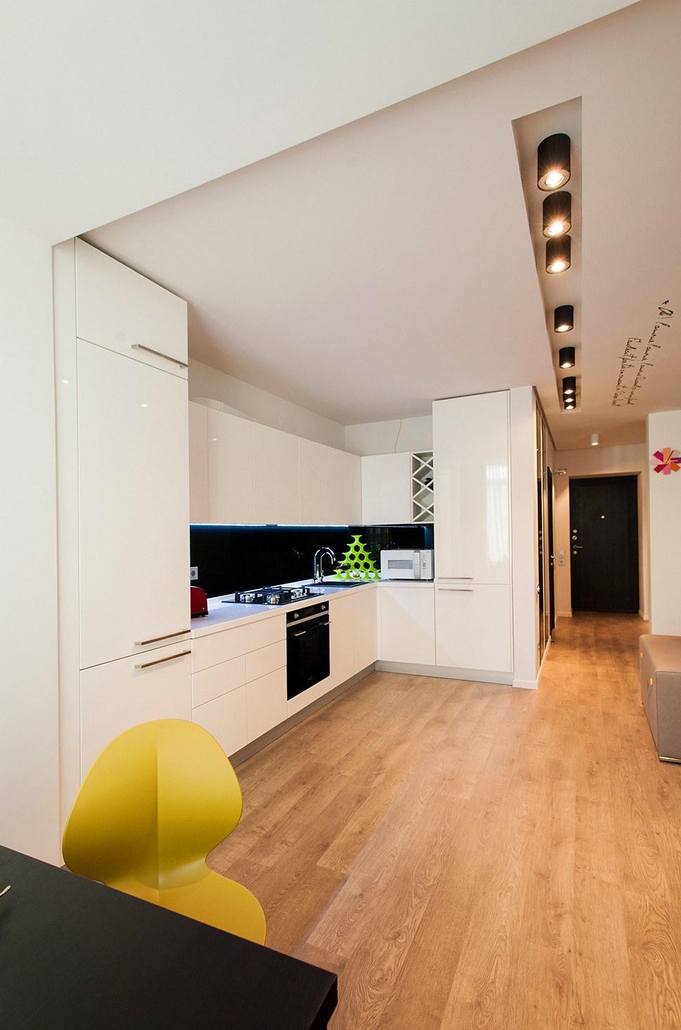 Дизайн студия уютная квартира фото