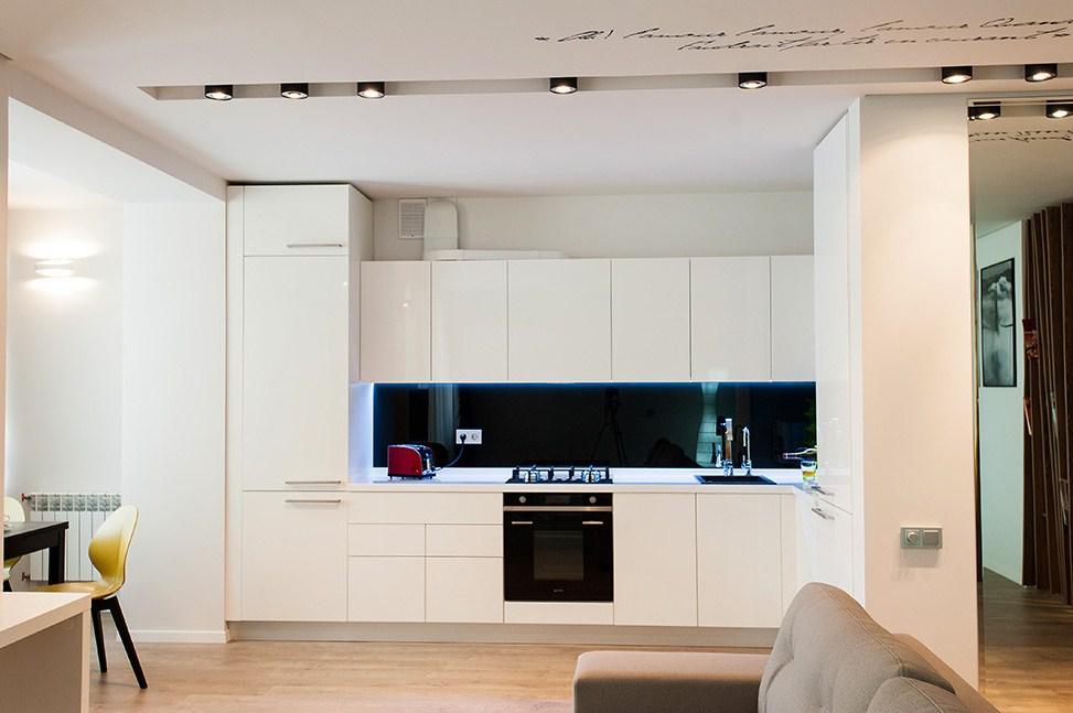 Белый интерьер квартиры студии фото 2015 современные идеи