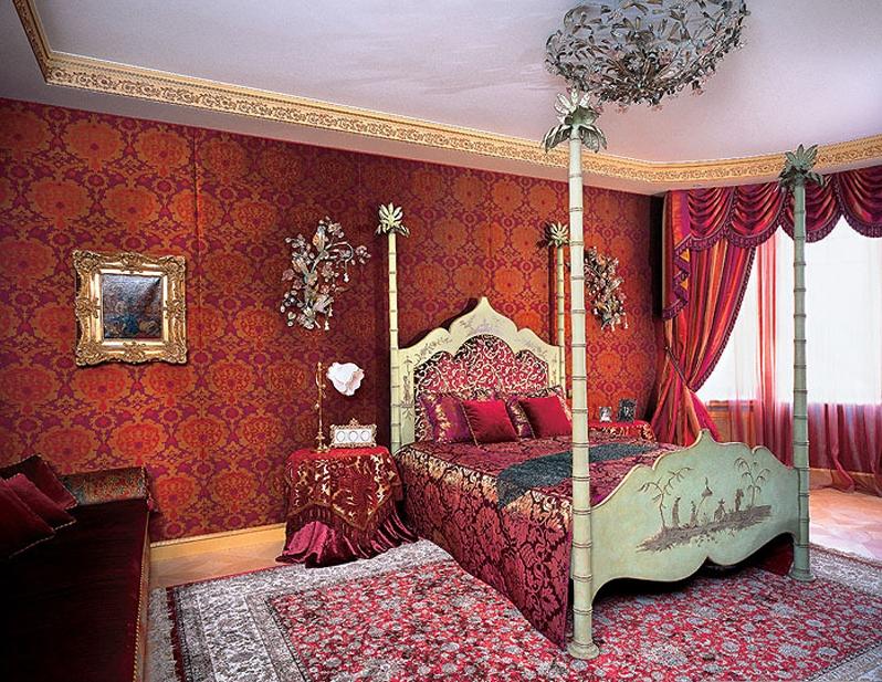 фото комната в восточном стиле