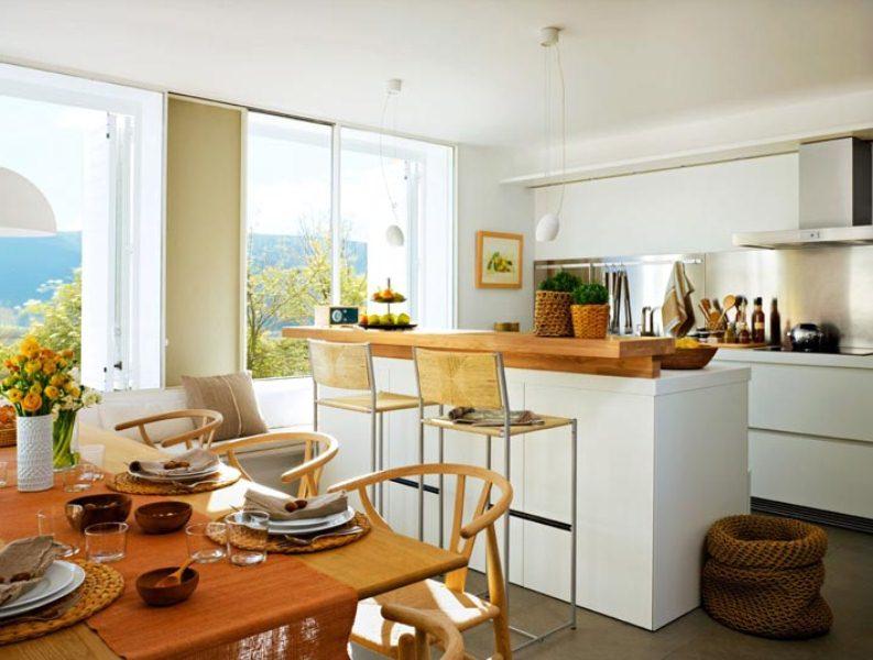 Дизайн уютные кухни