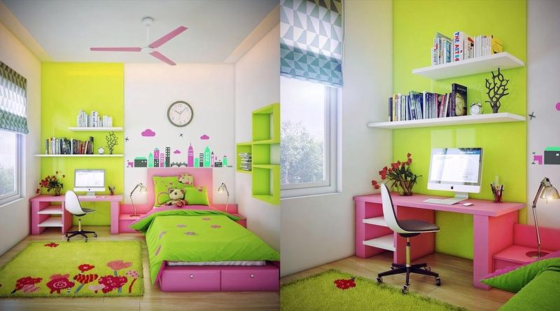 Дизайн красочных детских комнат Фото Дизайн интерьера