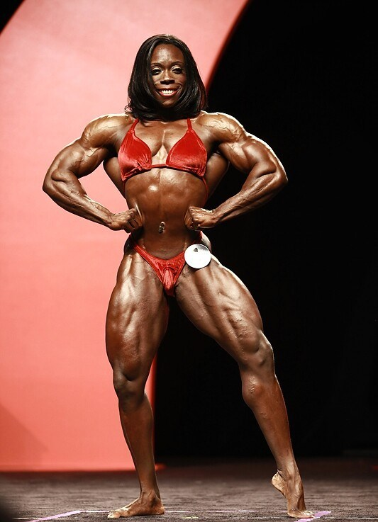 Самые при самые мускулистые девушки
