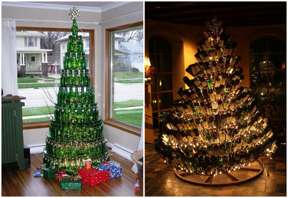 Оригинальная новогодняя елка фото