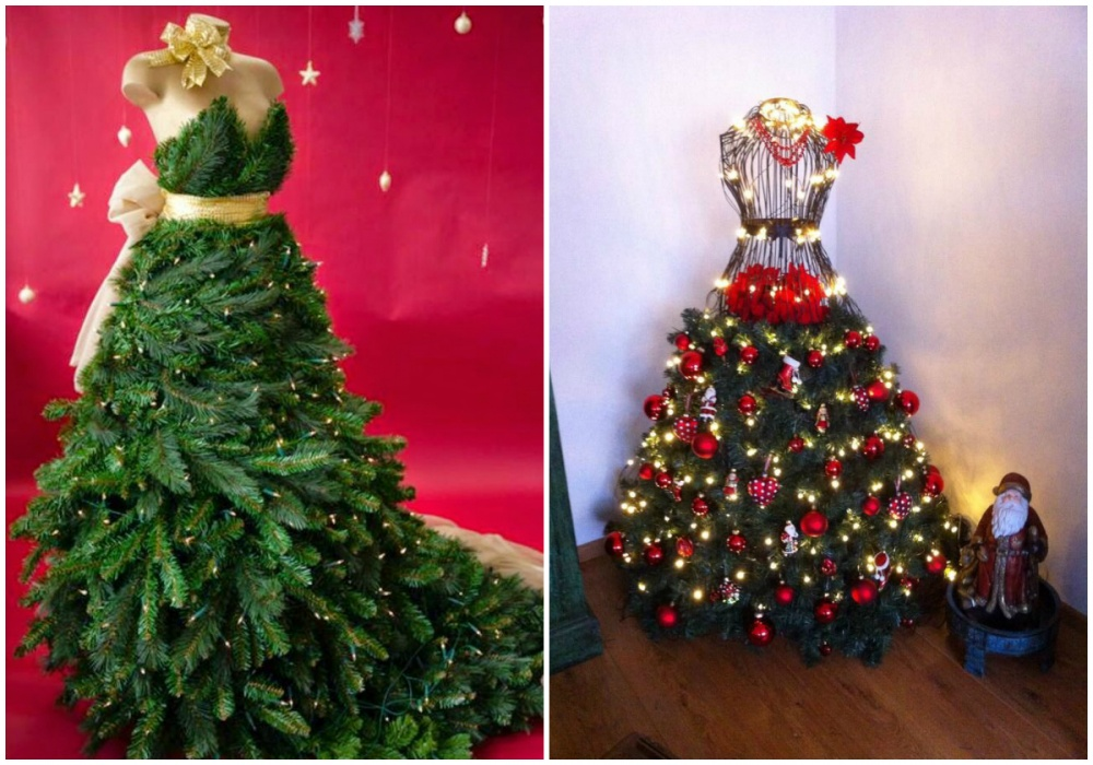 Платья для новогодней елки