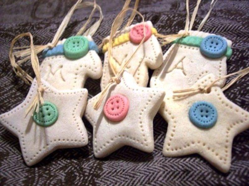 Планета мастеров поделки из соленого теста новогодние игрушки