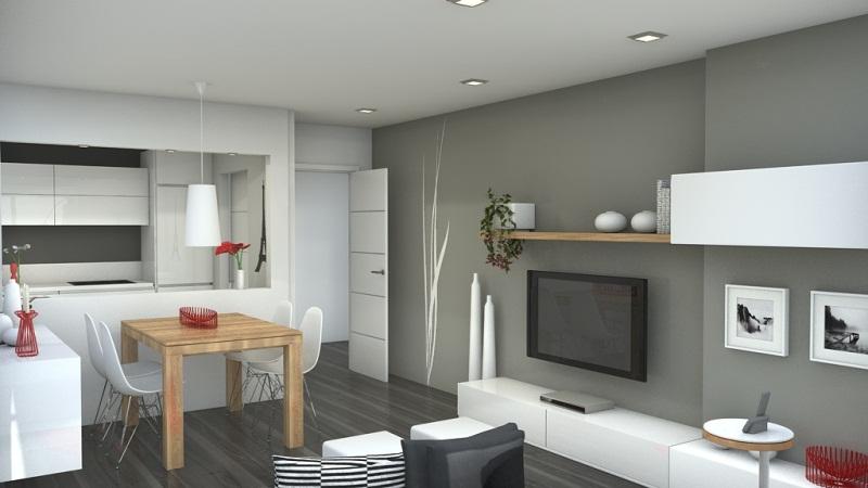 Дизайн кухни для кухни студии