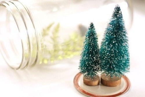Новогодние декоративные ёлки своими руками
