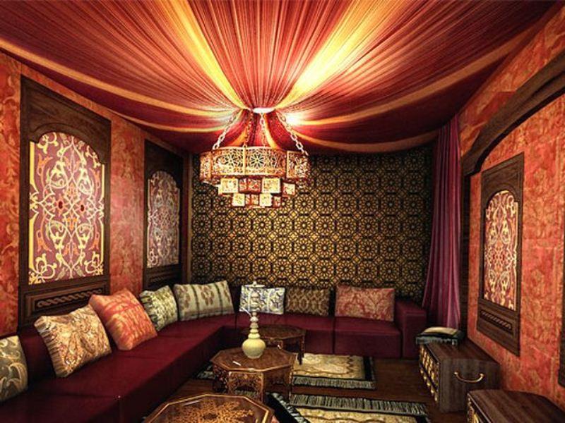 Индийский стиль в интерьере - Фото Дизайн интерьера