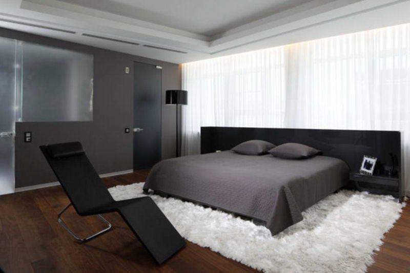 Спальни в стиле хай-тек - Фото Дизайн интерьера