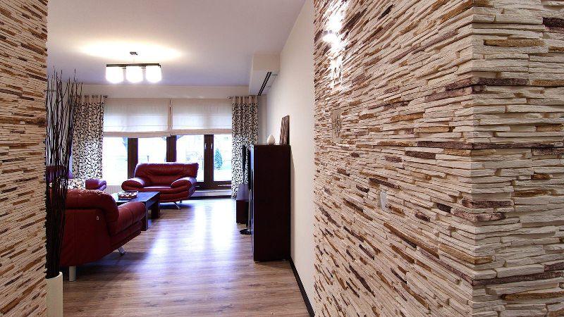 Дизайн из декоративного камня
