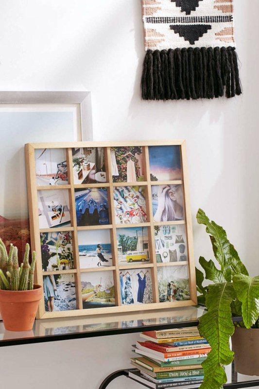 Размещение фото на стене идеи
