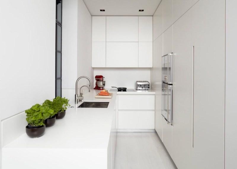 Белый ламинат в интерьере фото