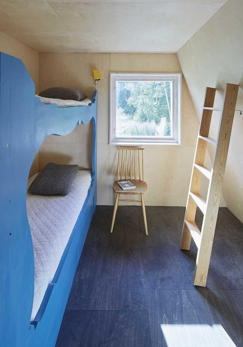 Детская комнада в доме-шалаше