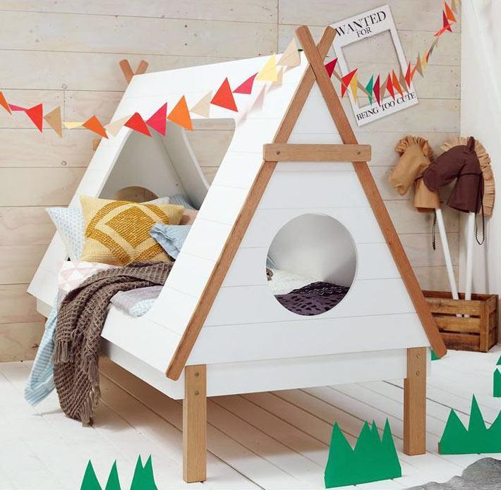 Кровать домик своими руками фото 5