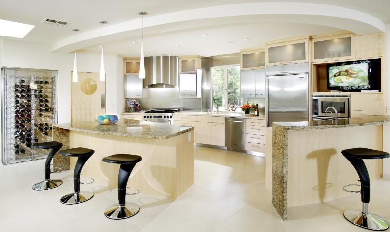 Современный дизайн кухни 2016-2017 года - Фото Дизайн интерьера