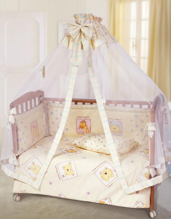 Балдахины для детских кроваток сшить фото 12