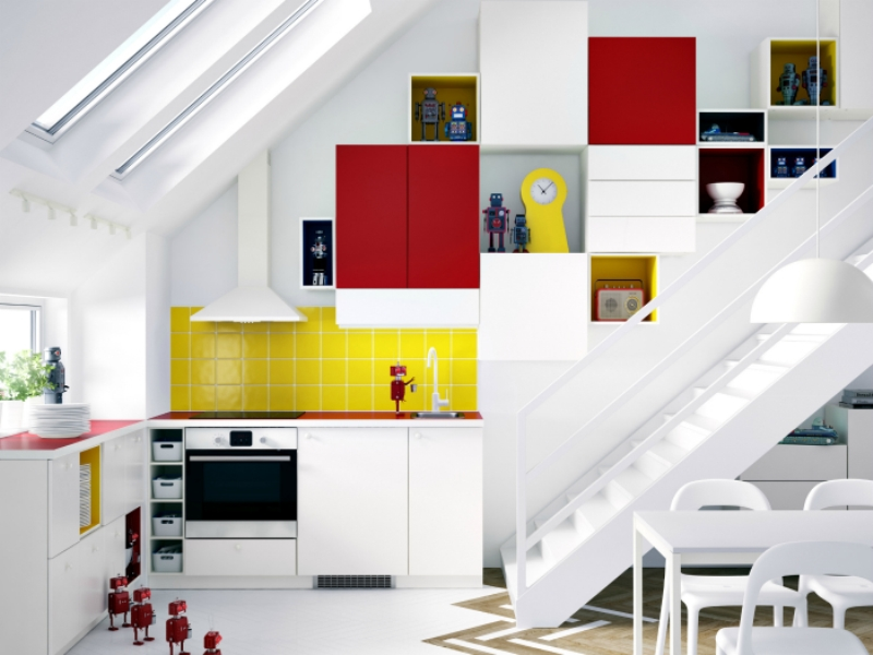 Дизайн в разных цветах