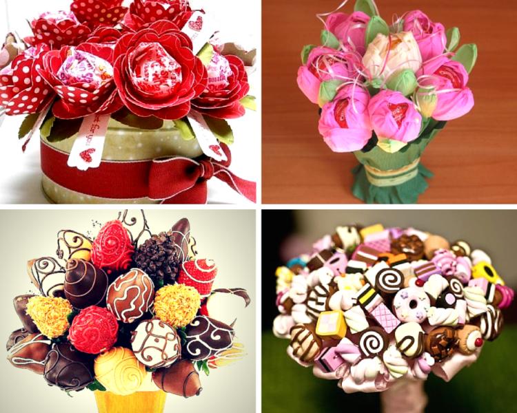 Как сделать конфетный букет своими
