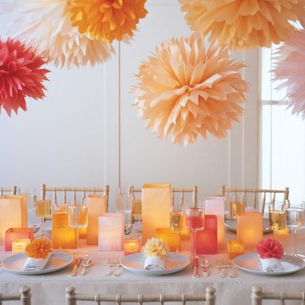 Как украсить зал на праздник своими руками 63