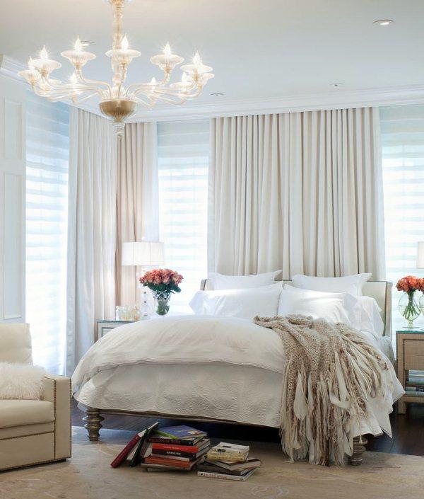 Фото огромной спальни