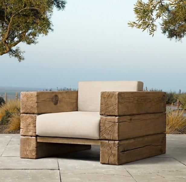 Садовая мебель своими руками кресла