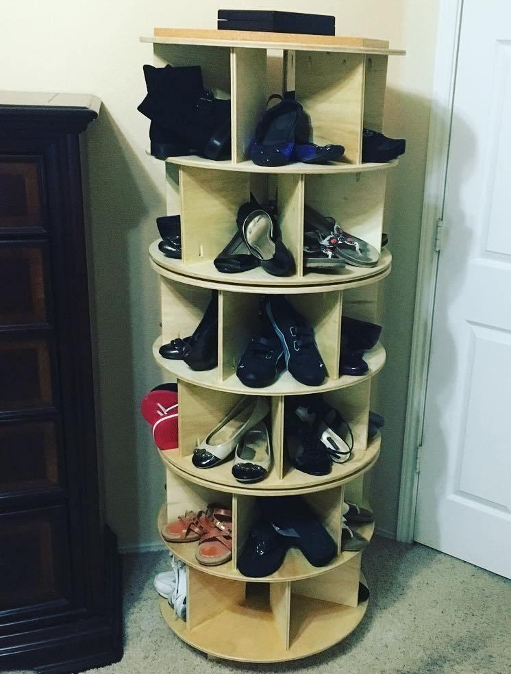 Подставка для туфель своими руками 41