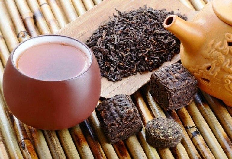 Свойства черного чая пуэр