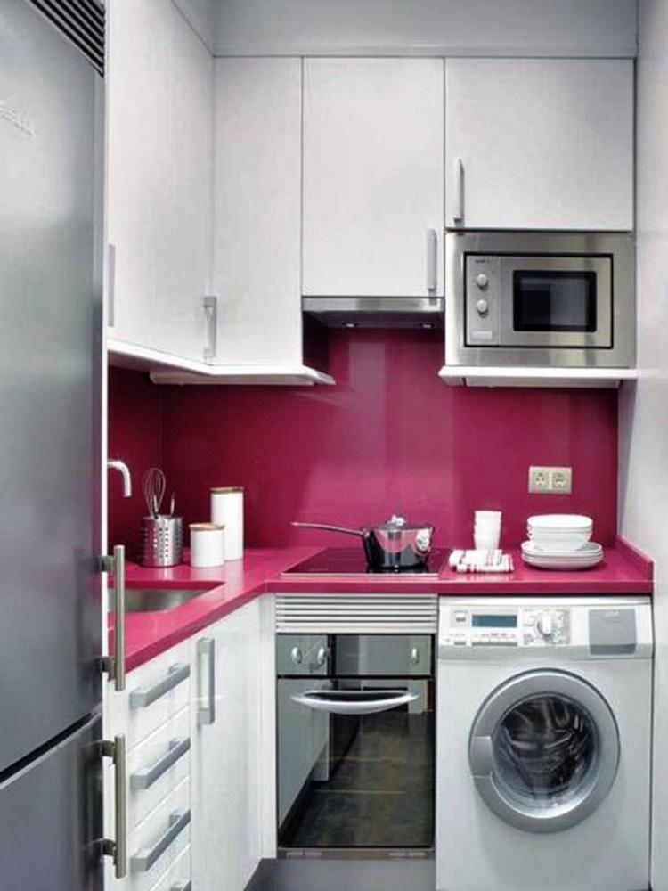 Интерьер очень маленькой кухни 4 кв.м фото