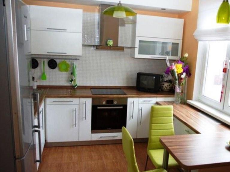 Декоры для маленьких кухонь фото