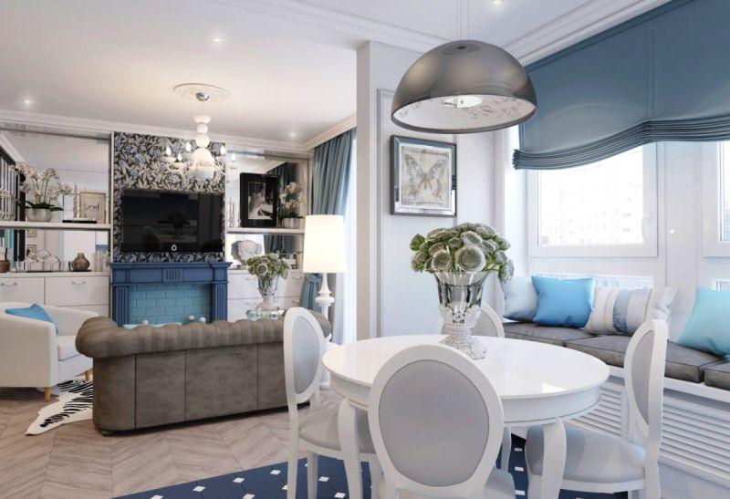 Квартира в стиле неоклассики - Фото Дизайн интерьера