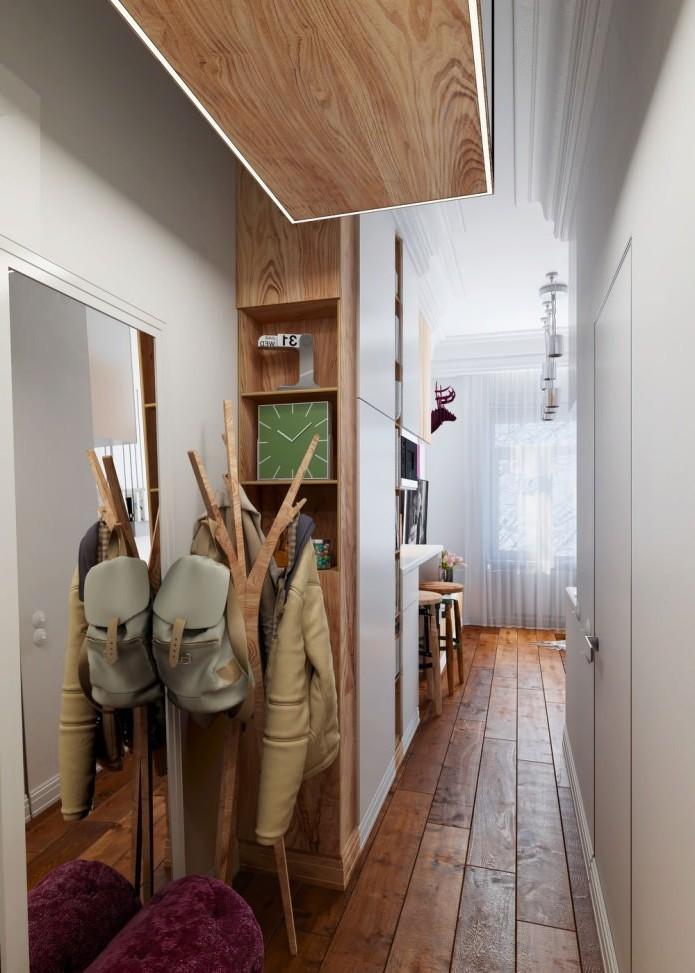 Модный дизайн маленькой ванной комнаты 2018 91