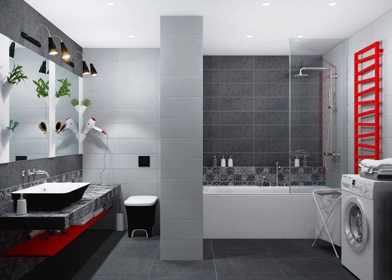 Современный интерьер двухкомнатной квартиры