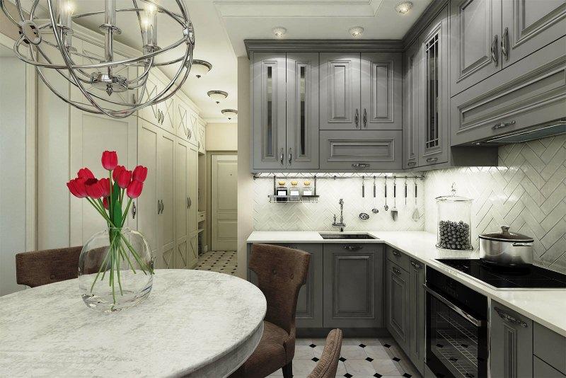 стиль классический в интерьере квартиры фото