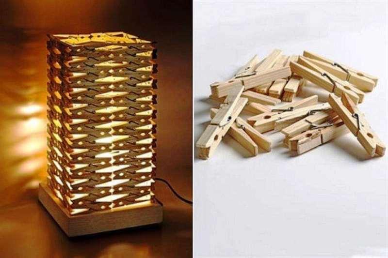 Креативные вещи из деревянных прищепок - Фото Креатив