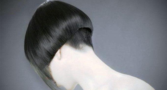 Прическа на короткий волос