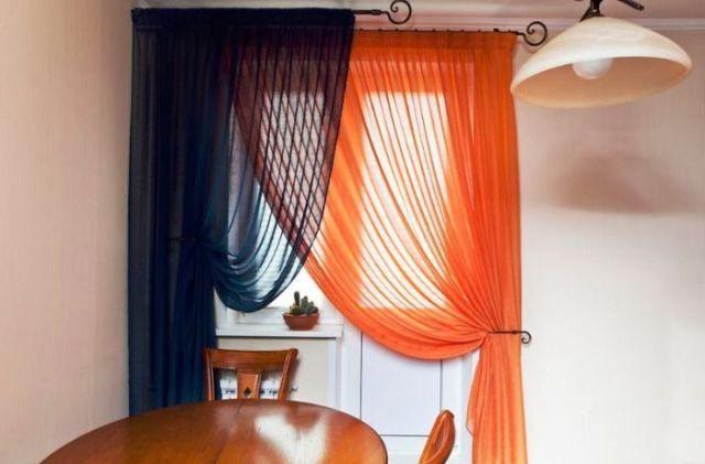 Занавески для кухни мода фото