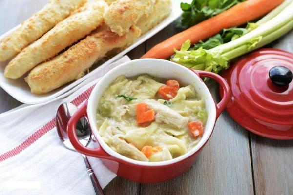 рецепт куриного супа от простуды