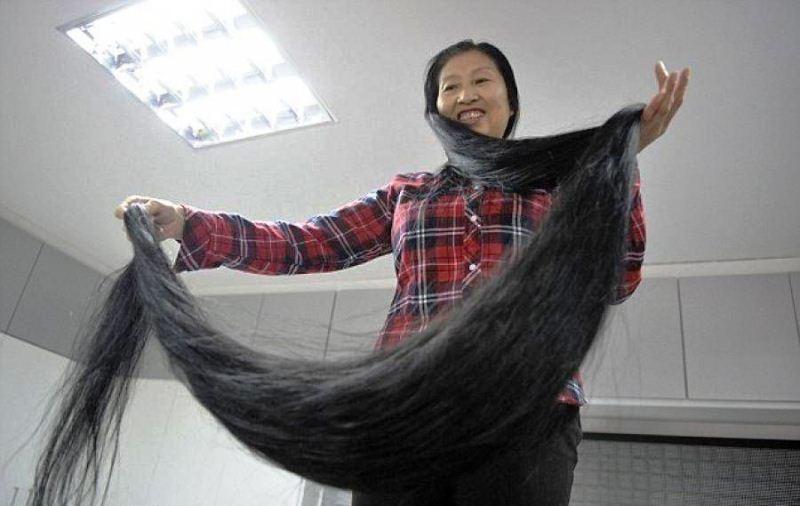 Самый длинный волос