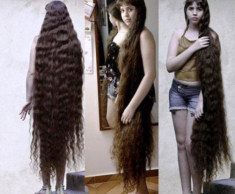 самые длинные волосы у детей в 11 лет