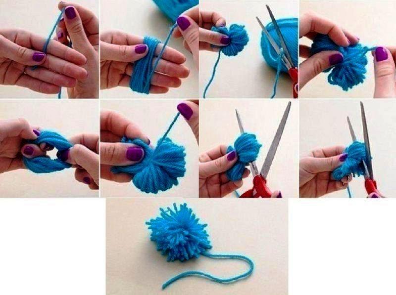 Как сделать своими руками коврик из ниток своими руками